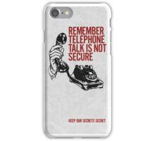 Telephone Talk Phone Case iPhone Case/Skin