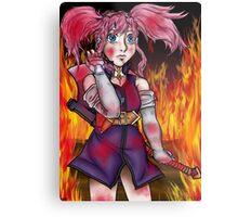 Fiery Destruction Metal Print