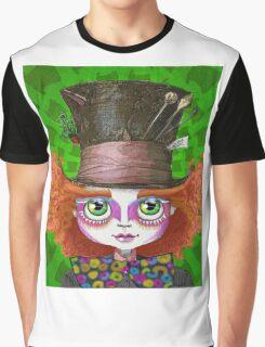 "Johnny Depp as Mad Hatter in Tim Burton's ""Alice in Wonderland"" Graphic T-Shirt"