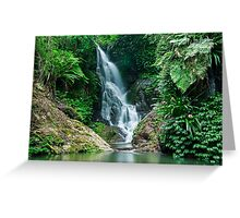 Elabana Falls Greeting Card