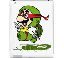 TMNT Mario iPad Case/Skin