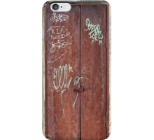 Memphis Graffiti Sequel iPhone Case/Skin