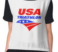 Team USA Triathlon  Chiffon Top