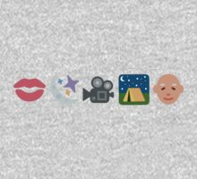 Pentatonix: Can't Sleep Love - Kissin' In The Moonlight Movies On A Late Night Gettin' Old (Emojis) Kids Tee