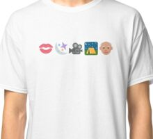Pentatonix: Can't Sleep Love - Kissin' In The Moonlight Movies On A Late Night Gettin' Old (Emojis) Classic T-Shirt
