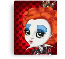 "Helena Bonham Carter as Red Queen in Tim Burton's ""Alice in Wonderland"" Canvas Print"