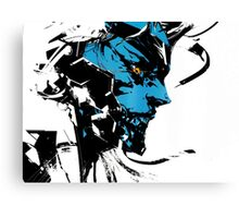 Metal Gear Rising Revengeance Artbook Raiden Canvas Print