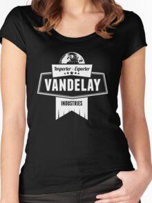 Vandelay Industries Logo Women's Fitted Scoop T-Shirt