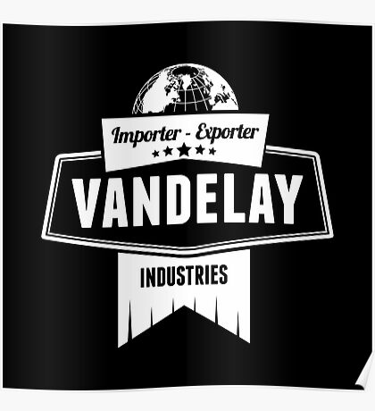 Vandelay Industries Logo Poster