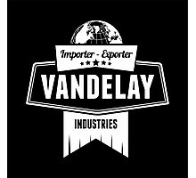 Vandelay Industries Logo Photographic Print