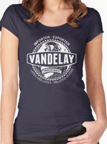 vandelay industries Women's Fitted Scoop T-Shirt