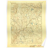 USGS TOPO Map Connecticut CT Gilead 331027 1892 62500 Poster