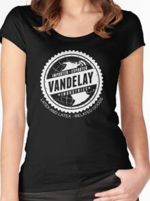 vandelay industries Women's Fitted Scoop T-Shirt