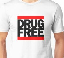 Straightedge Drug Free Unisex T-Shirt