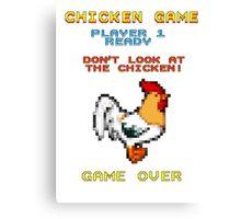 Chicken Game! Canvas Print