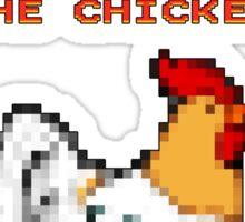 Chicken Game! Sticker