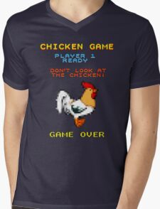 Chicken Game! Mens V-Neck T-Shirt