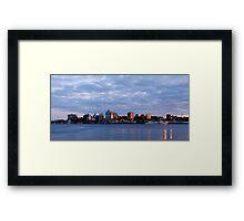 Halifax Waterfront Framed Print