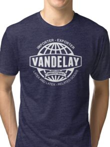 vandelay logo Tri-blend T-Shirt