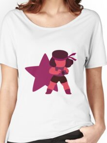 Ruby (Red) Women's Relaxed Fit T-Shirt