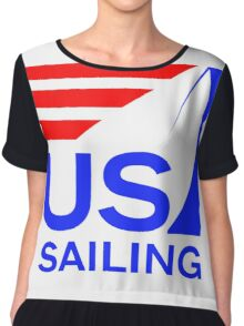 US Sailing - Team USA Chiffon Top