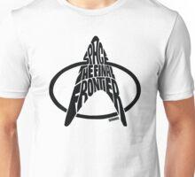 Star Trek Final Frontier (Black) Unisex T-Shirt