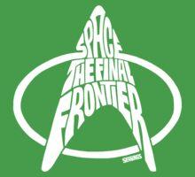 Star Trek Final Frontier (White) One Piece - Short Sleeve