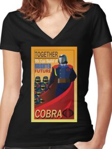 Join Cobra Women's Fitted V-Neck T-Shirt