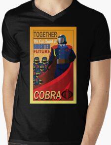 Join Cobra Mens V-Neck T-Shirt