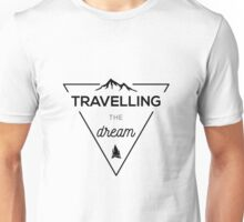 Travelling the dream Unisex T-Shirt