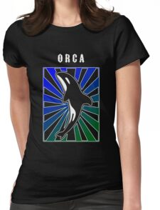 Orca Rays Womens Fitted T-Shirt
