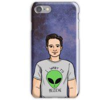 Space Mulder iPhone Case/Skin