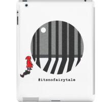 Little Red #itsnofairytale iPad Case/Skin