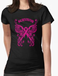 Survivor Womens Fitted T-Shirt