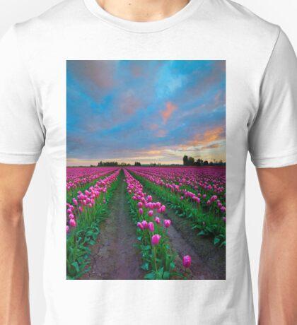 Sunset Pink Unisex T-Shirt