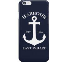 Harbour East Wharf Nautical iPhone Case/Skin