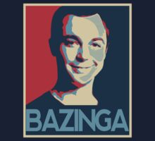 Bazinga Poster by JohnLucke