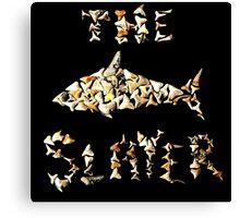 The Shark Slayer Canvas Print