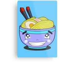 Happy Ramen Metal Print