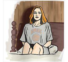 NY Knicks Scully Poster