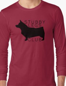 Stubby Legs Club - Corgi Long Sleeve T-Shirt