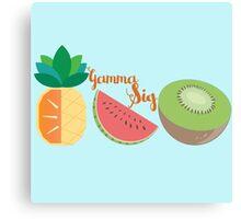 Gamma Sigma Sigma Summer Canvas Print