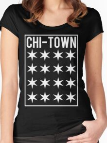 Chi-Town Women's Fitted Scoop T-Shirt