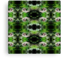 Flowers Fractal Pattern Canvas Print