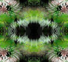 Flowers Fractal Pattern Sticker