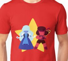 Ruby & Sapphire (Red) Unisex T-Shirt