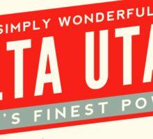 ALTA UTAH MOUNTAINS SKIING SKI LOGO Sticker