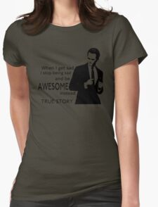 himym Barney Stinson Suit Up Awesome TV Series Inspired Funny  Womens Fitted T-Shirt