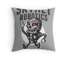 The Friendly Future Throw Pillow