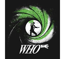 The Name's Who Photographic Print